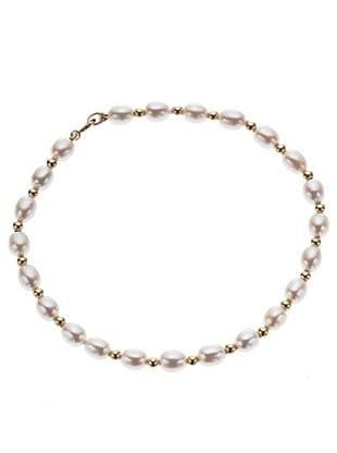 Le Perle di Emi Kaway Bracciale Oro Giallo 18k E Filo Di Perle