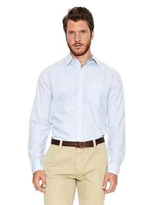 Dockers Camisa Forward Point (Azul / Blanco)