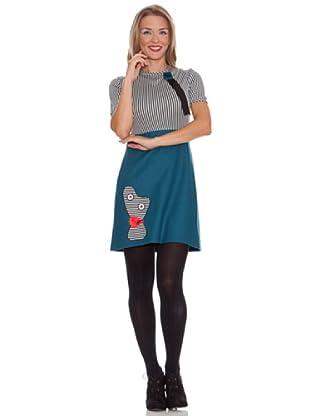 Divina Providencia Vestido Momo (Azul)