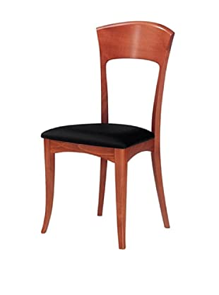 Domitalia Giusy Chair, Light Cherry/Black