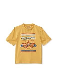 Alpha Industries Boy's Air Races Tee (Yellow)
