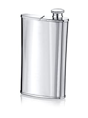 Wilouby 4 oz. Flask with Cigar Holder