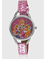 Aw100227 Pink/Pink Analog Watch Disney