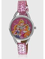 Aw100227 Pink/Pink Analog Watch Disney