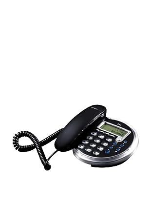 Topcom Teléfono T41 Black Diseño Neón