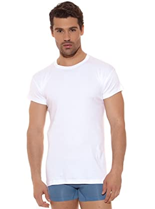 Ocean Camiseta M / C 100% Algodón (Blanco)