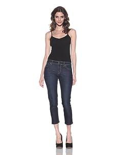 DL 1961 Premium Denim Women's Khloe Crop Jeans (Riviera)