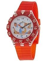 Maxima Analog White Dial Children's Watch - 04474PPKW