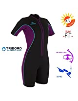 WETSUIT TRIBORD SHORTY D 100 WOMAN