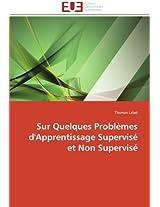 Sur Quelques Problemes D'Apprentissage Supervise Et Non Supervise (Omn.Univ.Europ.)