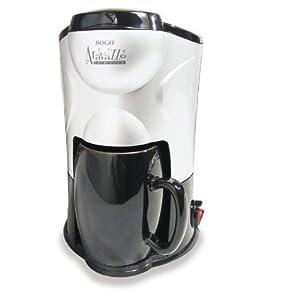 Sogo CAFE-010 Mini Drip Coffee and Tea Maker (Silver/Black)