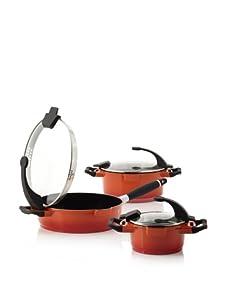 BergHOFF Virgo Cast Aluminum 6-Piece Cookware Set