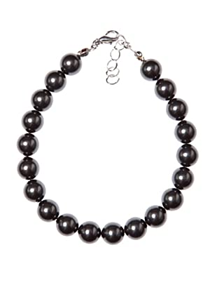 MUSAVENTURA Pulsera  Pearls  Negro