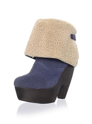 Messeca Women's Julieta Boot (Blue Fade)