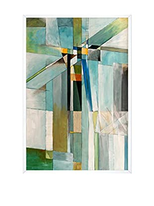 Clive Watts Icy Cross Framed Print On Canvas, Multi, 37.5