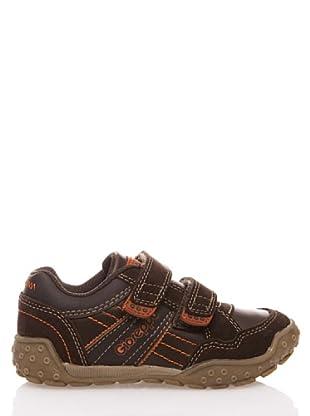 Gioseppo Kids Zapatilla Velcro (marrón)