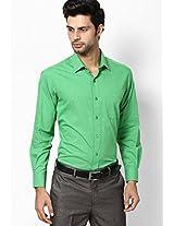 Green Formal Shirt John Players
