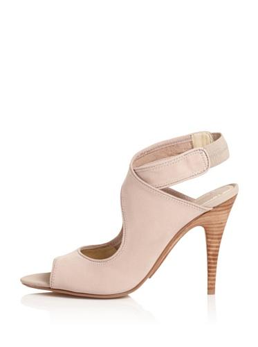 MaxStudio Women's Erica Ankle-Strap Sandal (Taupe)