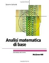 Analisi matematica di base Seconda Edizione