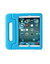 Gearonic Dblue Children Safe Kids Friendly Protective EVA Foam Rugged Case Cover Handle Stand for Apple iPad Air 5 (AV5656-Dblue-iPa5)
