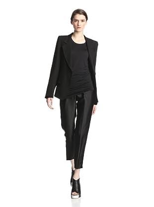 Ann Demeulemeester Women's Wovi Blazer (Black)