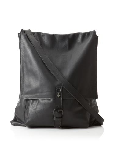 +Beryll Raw Men's Flap Messenger Bag (Night)