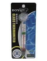BOYU BT-01 Glass Thermometer for Aquarium