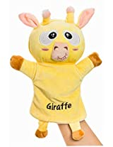 Plush Animal Hand Puppets Funny Toys For Kids, Giraffe A