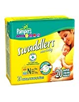 Pampers Swaddlers - NEWBORN s 2 Cases of 240 Each