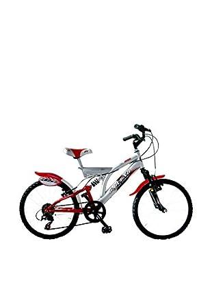 GIANNI BUGNO Bicicleta Akx20207Ba Plata / Rojo