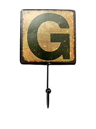 LO+DEMODA Wanddeko Letters Metal G