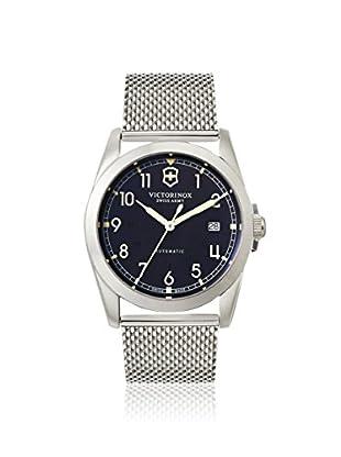Victorinox Swiss Army Men's 241587 Infantry Silver/Black Stainless Steel Watch
