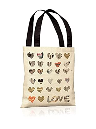 Oliver Gal In The Paper Tote Bag, Multi