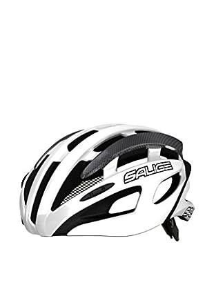 Salice Casco de Ciclismo Spin Blanco / Gris