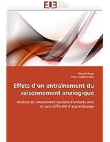 Effets D''Un Entrainement Du Raisonnement Analogique (Omn.Univ.Europ.)