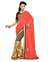 Gopalclothdesigner Art Silk Resham Saree (iwgy165_Multicolor)