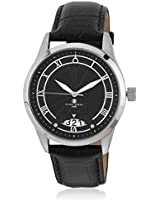 Eiffel Kk-20004-01 Black/Black Analog Watch