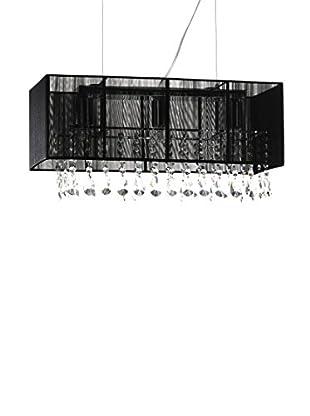 Contemporary Living Lámpara De Suspensión Kostanza Negro