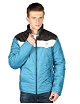 AGAIN MEN'S SOLID MEN'S HIGH NECK POLYESTER 4 POCKETS Jacket