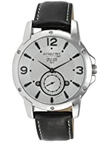 Q&Q Attractive Analog White Dial Men's Watch - DA14J304Y