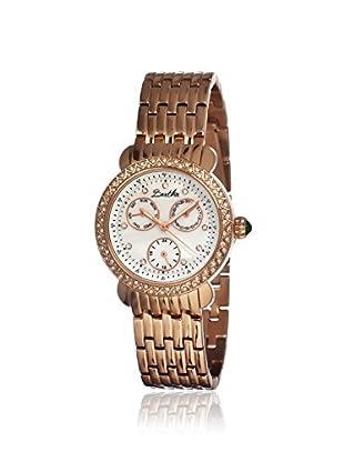 Bertha Women's BR1205 Daniella Rose Gold/White Stainless Steel Watch
