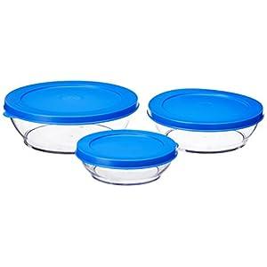 Tupperware Clear Bowl Slim Line Set, Set of 3 (177)