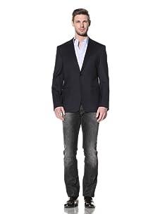 Versace Collection Men's City Fit Blazer (Navy)