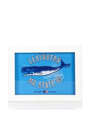 Lexington Company Cuadro Ballena (Blanco / Azul)