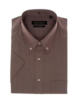 Pierre Clarence Camisa de manga corta (Marrón)