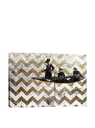 La Barque VII Gallery Wrapped Canvas Print