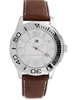 Tommy Hilfiger Analog Watch - For Men - Brown - TH1790992