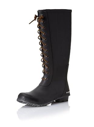 SeaVees Women's Off Shore Full-Length Rain Boot (Grey)
