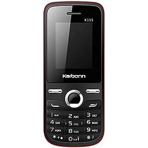 Karbonn K115 - BLACK-RED