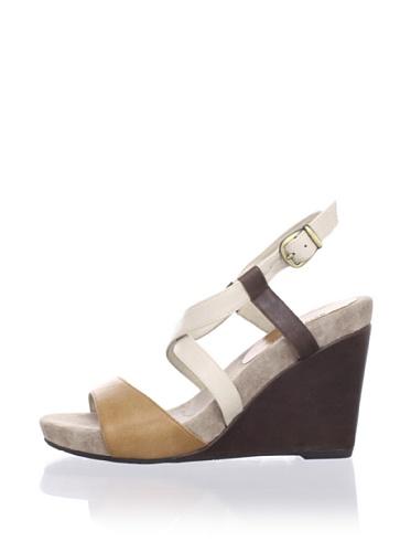 Chocolat Blu Women's Sunny Wedge Sandal (Camel)